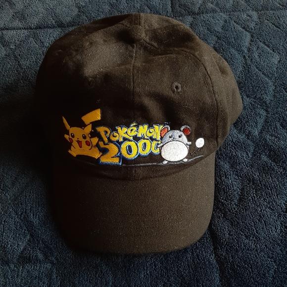 VTG Pokemon 2000 Snapback Pikachu and Marill